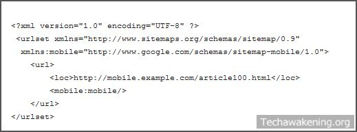 how to create google xml sitemap for mobile wordpress blog
