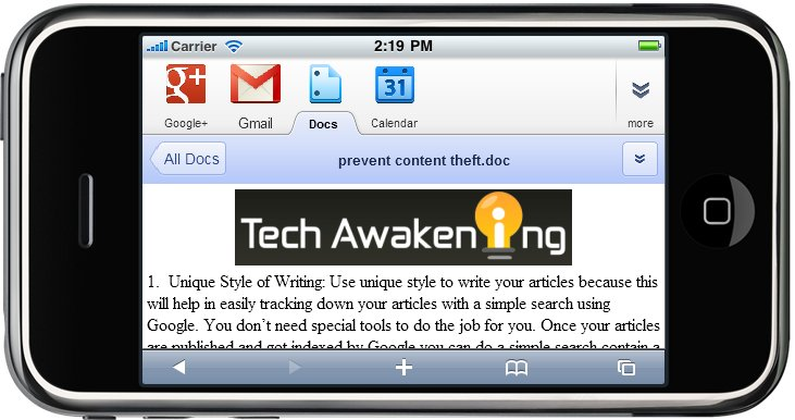 Open Word, Excel and PowerPoint Files on iPad and iPhone