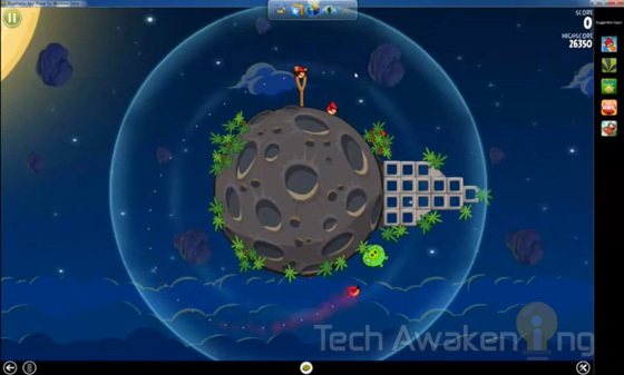 play angry birds space on pc for free