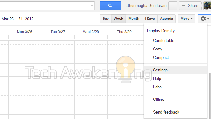 setup for mobile alerts in Google Calendar