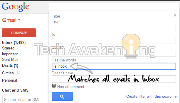 Get SMS alerts on receiving new email in Gmail