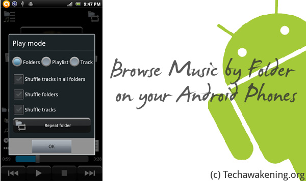 Browse Play Music by Folder on Android
