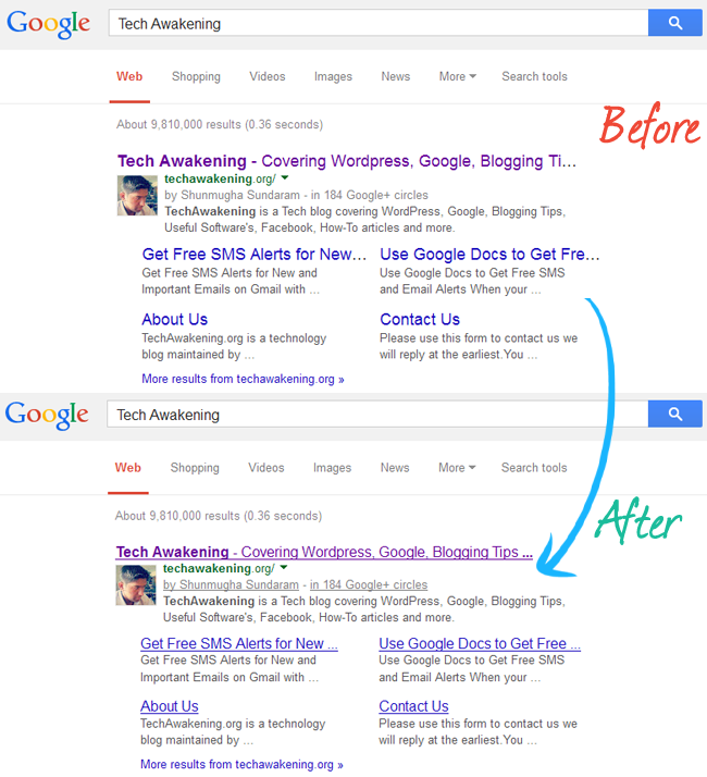 Get back Underlined Links and Smaller Font Size in Google Search Page via Bookmarklet