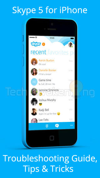 Skype 5 for iPhone: Troubleshooting Guide, Tips and Tricks